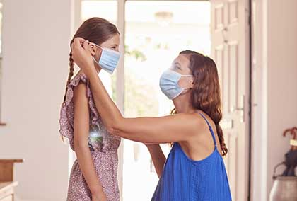 Mother Daughter Mask